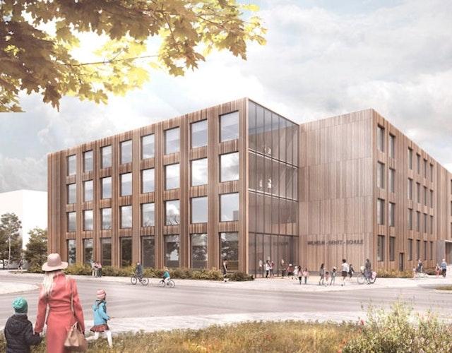 Um- und Ausbau der Wilhelm-Gentz-Grundschule inklusive Neubau einer Zweifeld-Turnhalle in Neuruppin