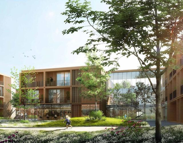 Neubau eines generationsübergreifenden Gebäudekomplexes in Neubrandenburg