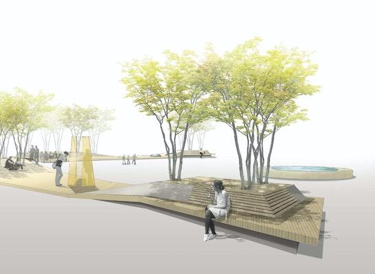 Visualisierung Holzdecks