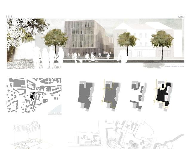 Neubau Bibliothek und Bürgerservice der Stadt