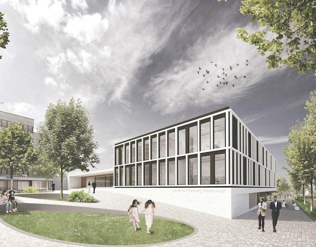 Erweiterung Kreisverwaltungsgebäude Marburg