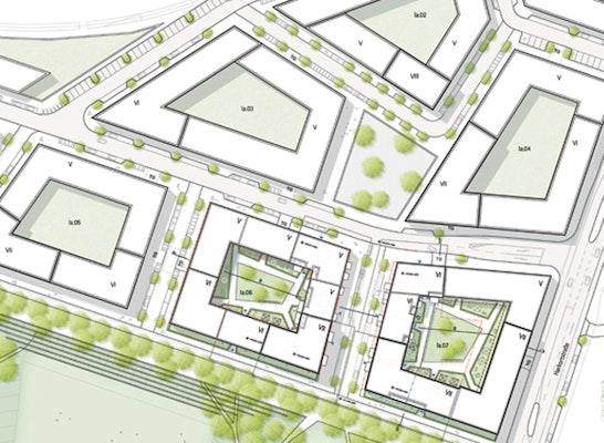 arbos Freiraumplanung mit  André Poitiers Architekten