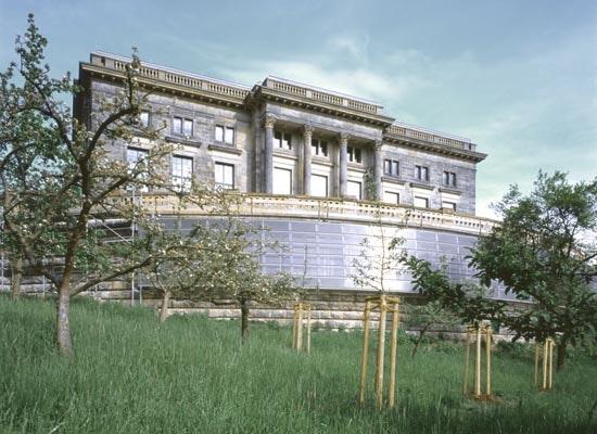 Projekt goethe und schiller archiv competitionline - Architekturburo weimar ...