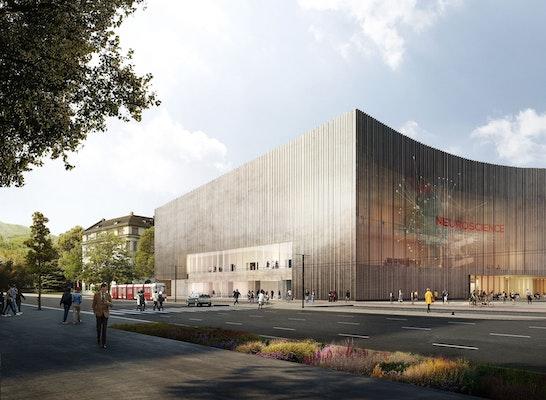 2 preis heidelberg convention center competitionline - Architekturburo heidelberg ...