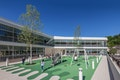 Außenspielfläche der Vorschule.