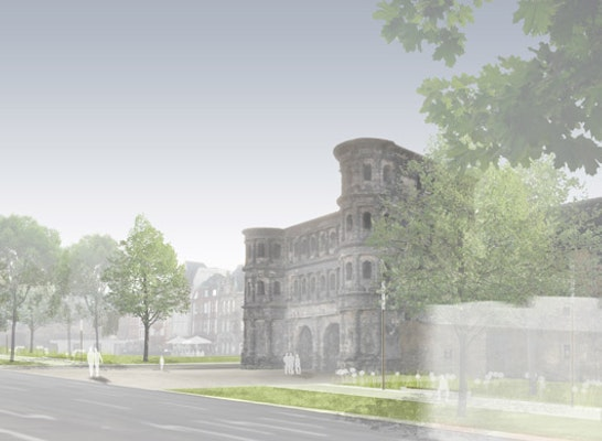 Porta Nigra/ Nordseite