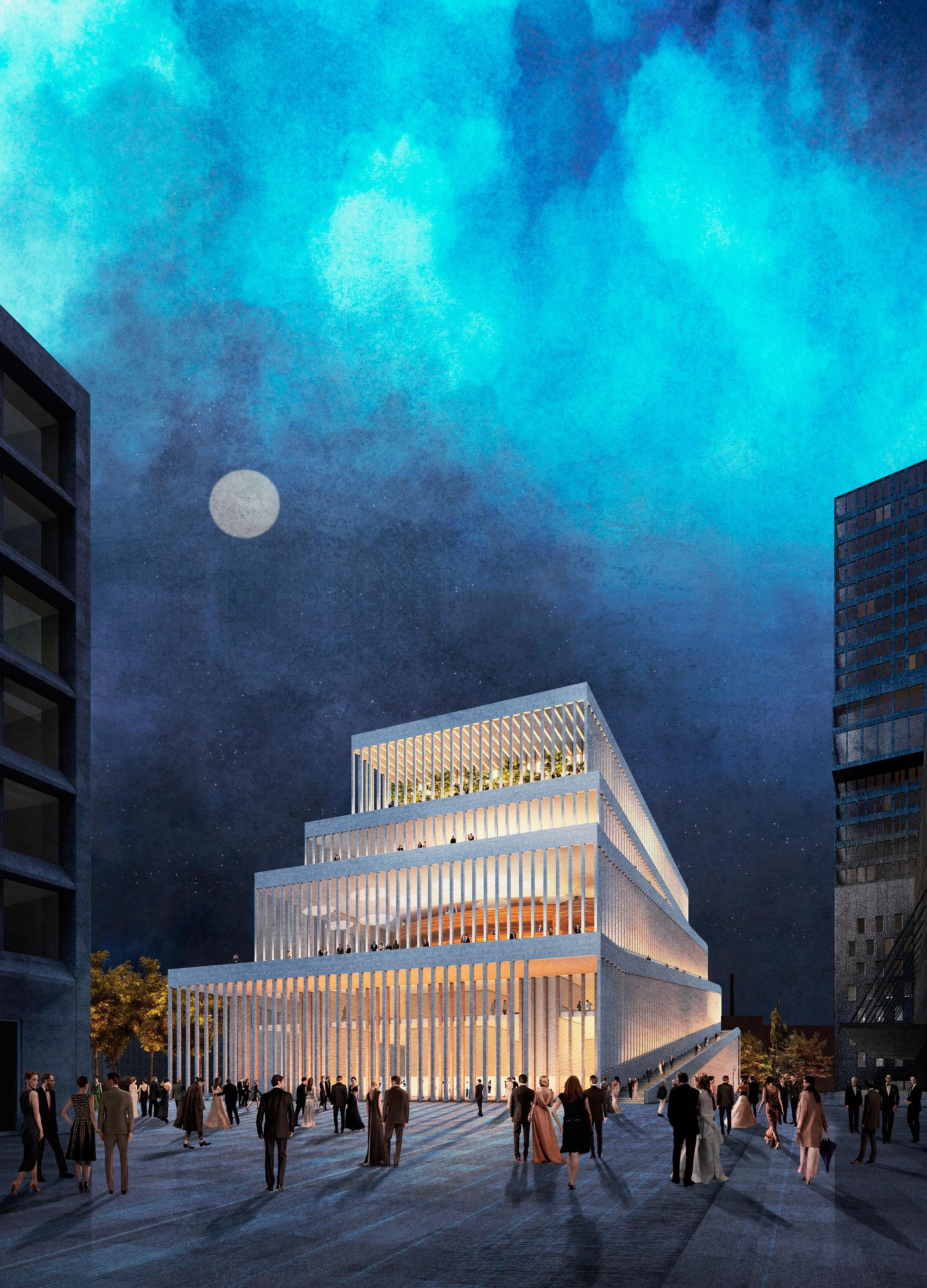 Result Neubau Konzerthauscompetitionline