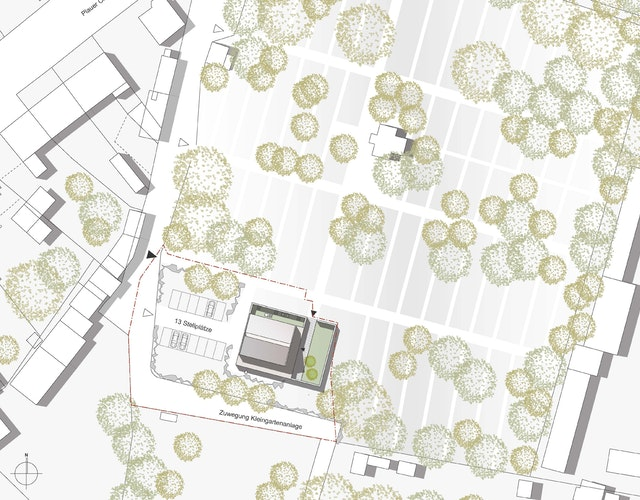 Lageplan © ALTHEN Architekten