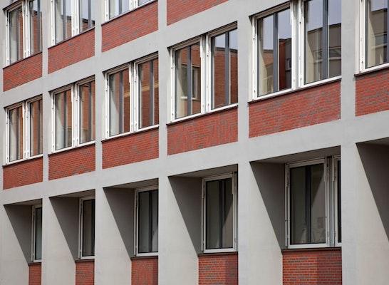 Fassade saniert