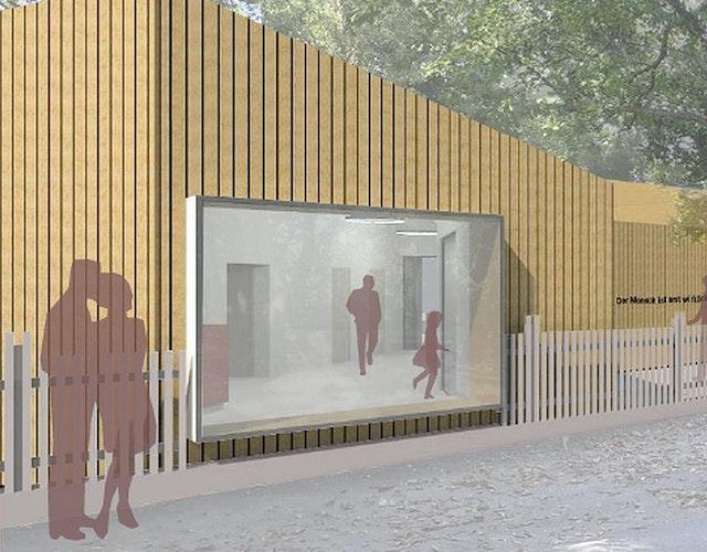 Neubau Besucherzentrum am Brecht-Weigel-Haus in Buckow (Märkische Schweiz)