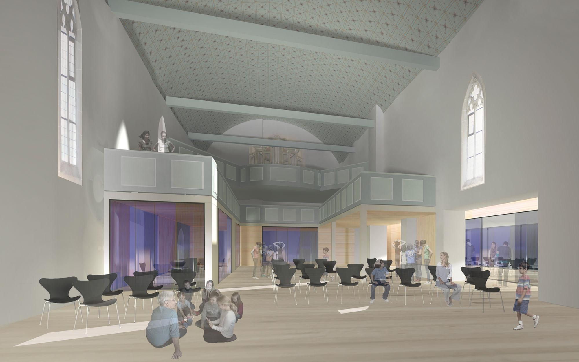 Architekt Nordhausen ergebnis jugendkirche st in valle umgestal competitionline