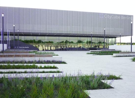 Project CITY CUBE BERLIN  Neue Messehalle Berlin