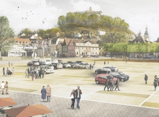 H2m Architekten ergebnis zentralparkplatz und tiefgarage competitionline