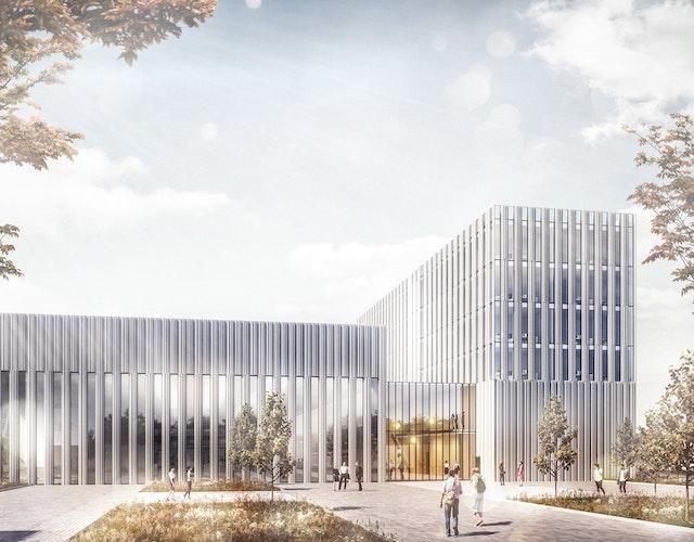 Neubau des Zentrums für digital vernetzte Produktion der RWTH Aachen