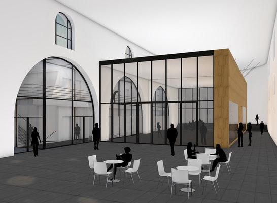 1. Preis: Innenraumperspektive, © Feja + Kemper Architekten Stadtplaner PartGmbB