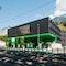 Neubau Tankstelle und Studentenheim