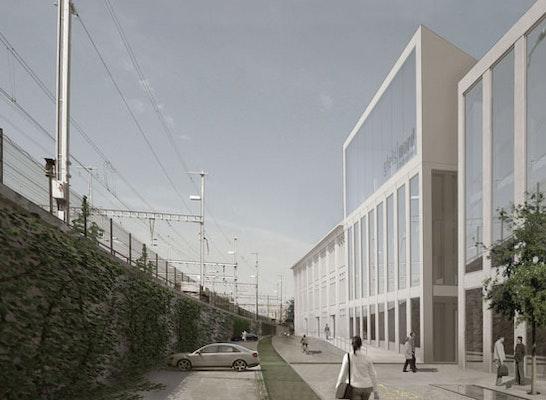 ergebnis architekturstudien gleis nord lenzburg competitionline. Black Bedroom Furniture Sets. Home Design Ideas