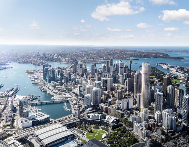 505 George Street - ein Wohnturm in Sydney