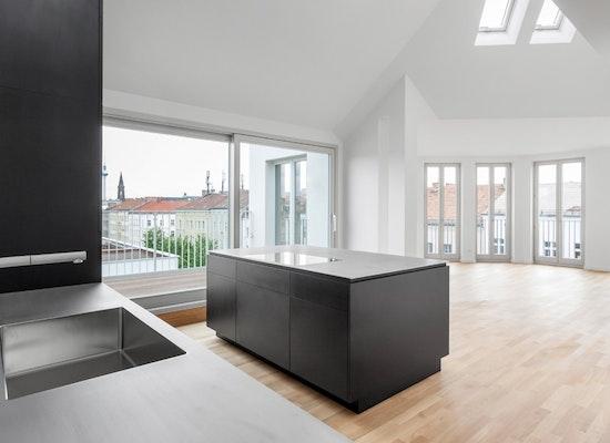 projekt penthouse berlin mitte competitionline. Black Bedroom Furniture Sets. Home Design Ideas