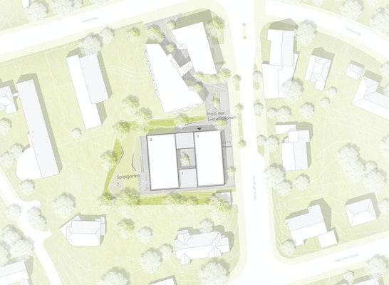 1. Preis: Lageplan, © LIMA* architekten | Lisa Bogner und Tobias Manzke