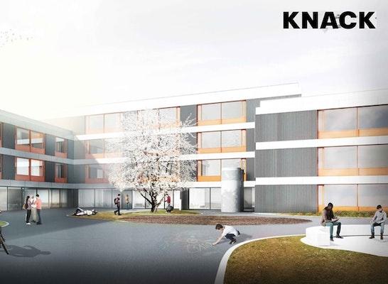 Ergebnis Neubau Therese Giehse Realschule Unterschl