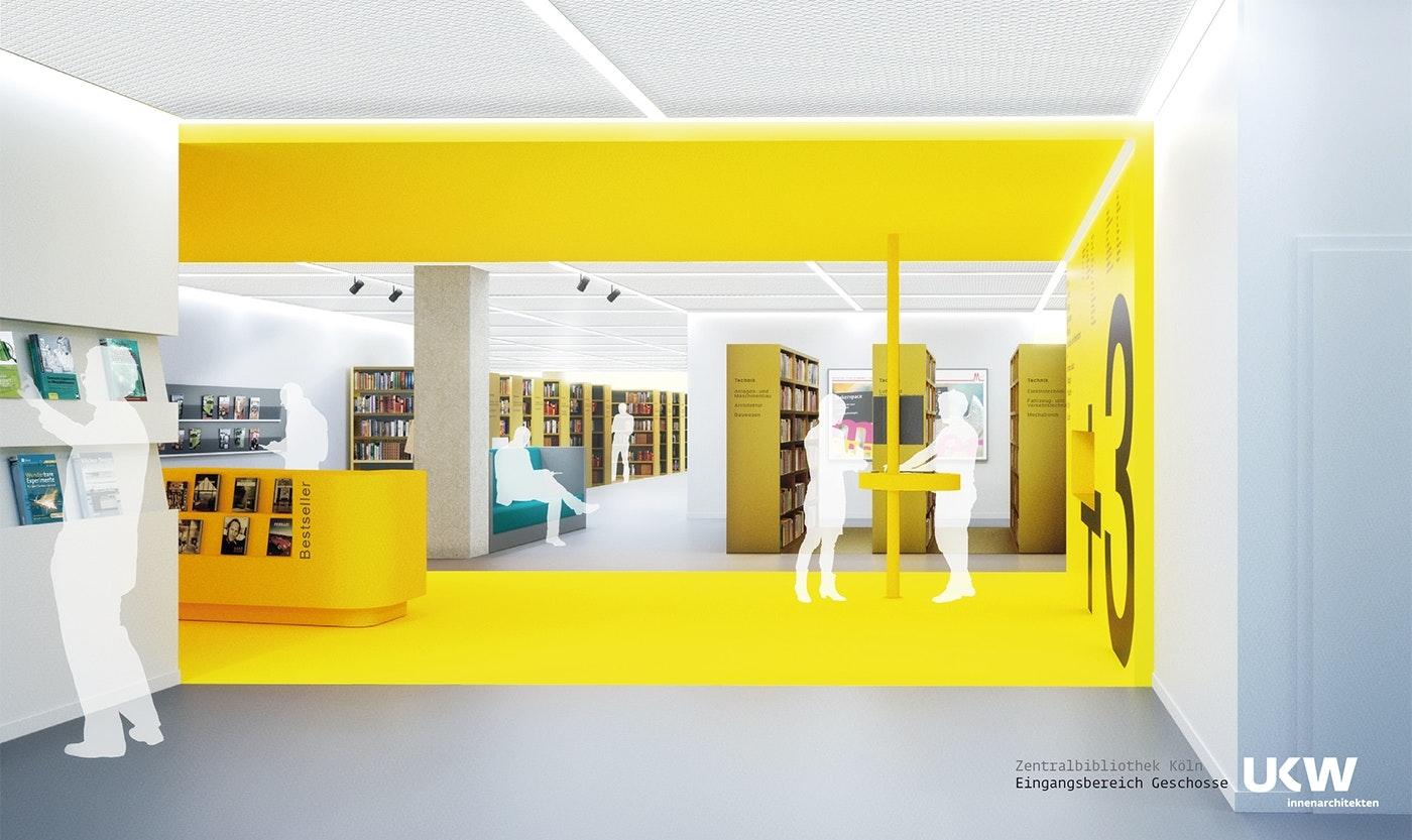 21. Preis Zentralbibliothek der Stadtbibliothek Köln...competitionline