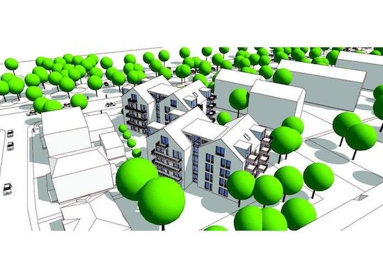 project generationenwohnen am volkspark mainz competitionline. Black Bedroom Furniture Sets. Home Design Ideas
