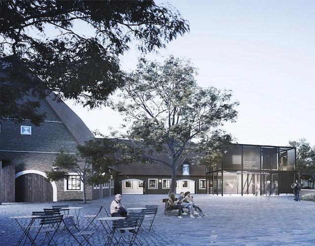 Ausbau der Burg Hülshoff zu einem Literatur- Kulturzentrum in Havixbeck