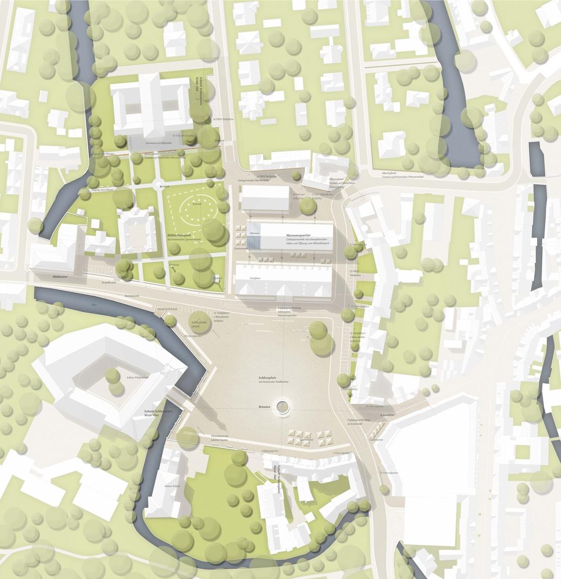 ergebnis: neugestaltung schlossplatz / dammfeste..petitionline, Innenarchitektur ideen
