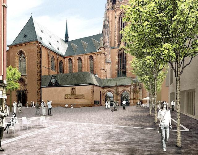 Neugestaltung des Domplatzes in Frankfurt am Main