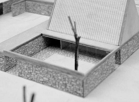 ergebnis neubau der aussegnungshalle und der neuges. Black Bedroom Furniture Sets. Home Design Ideas