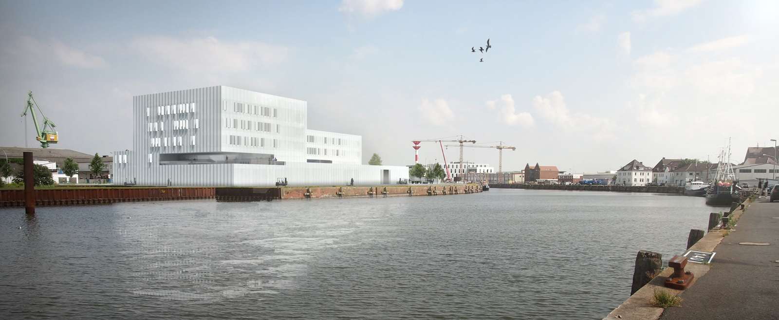 Architekten Bremerhaven 1 preis johann heinrich thünen institut competitionline