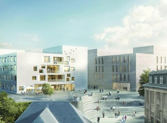 Ergebnis Neubau Business Development Center Auf Dem