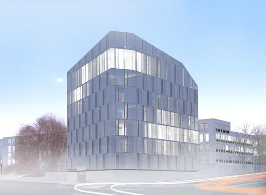 1. Preis: Bürohaus am Steigerwald