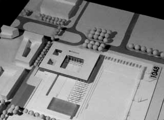 Modell Schulzentrum