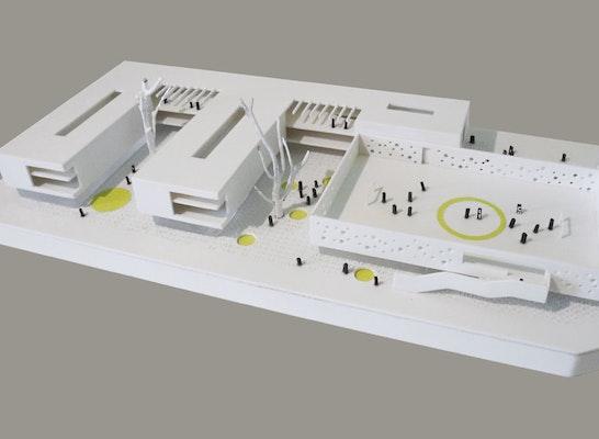 5. Preis: Modell Dürschinger Architekten & Eyland 07