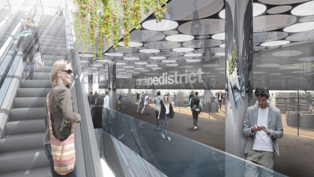 Ijhal - Centraal Station/Amsterdam http://www.archdaily.com/82859/ijhal-competition-winner-wiel-arets-architects/