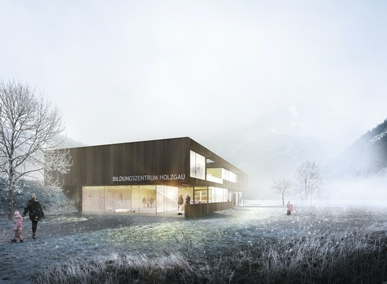 1 preis sieger bildungszentrum holzgau competitionline. Black Bedroom Furniture Sets. Home Design Ideas