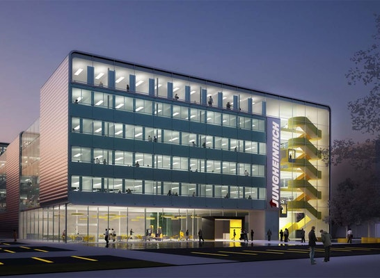 1. Rang: Perspektive, © architekten prof. klaus sill + assoziierte GmbH