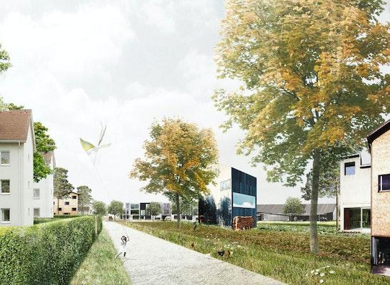 Teilnahme: © Atelier LOIDL Landschaftsarchitekten in Kooperation mit Studio Wessendorf Architektur Städtebau und Grischa Leifheit - Architekt
