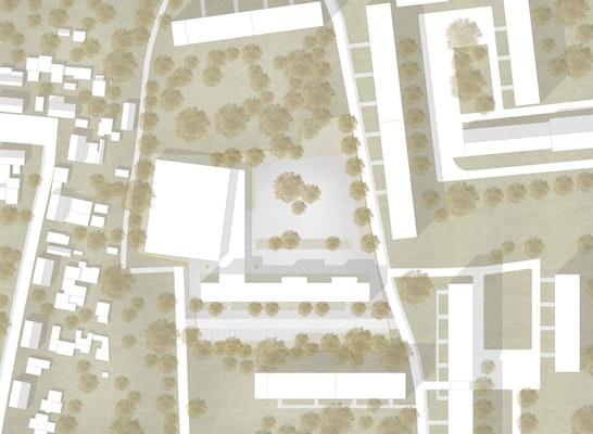 Zuschlag: Lageplan, © nitschke+kollegen architekten