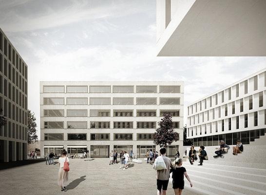 Ergebnis entwicklung des areals unicenterparkplatz - Architektur mannheim ...
