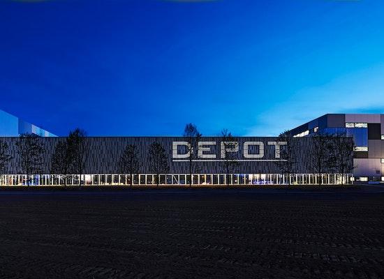 Projekt L Rmschutzwand Depot Lichtkonzept Competitionline