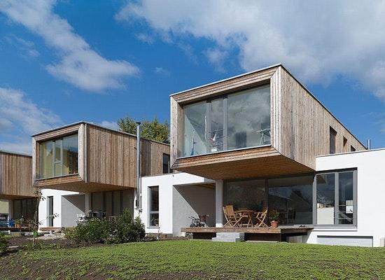 Auszeichnung: Neubau von 7 Einfamilienhäusern, architectoo | schoch eichhorn bühler architekten