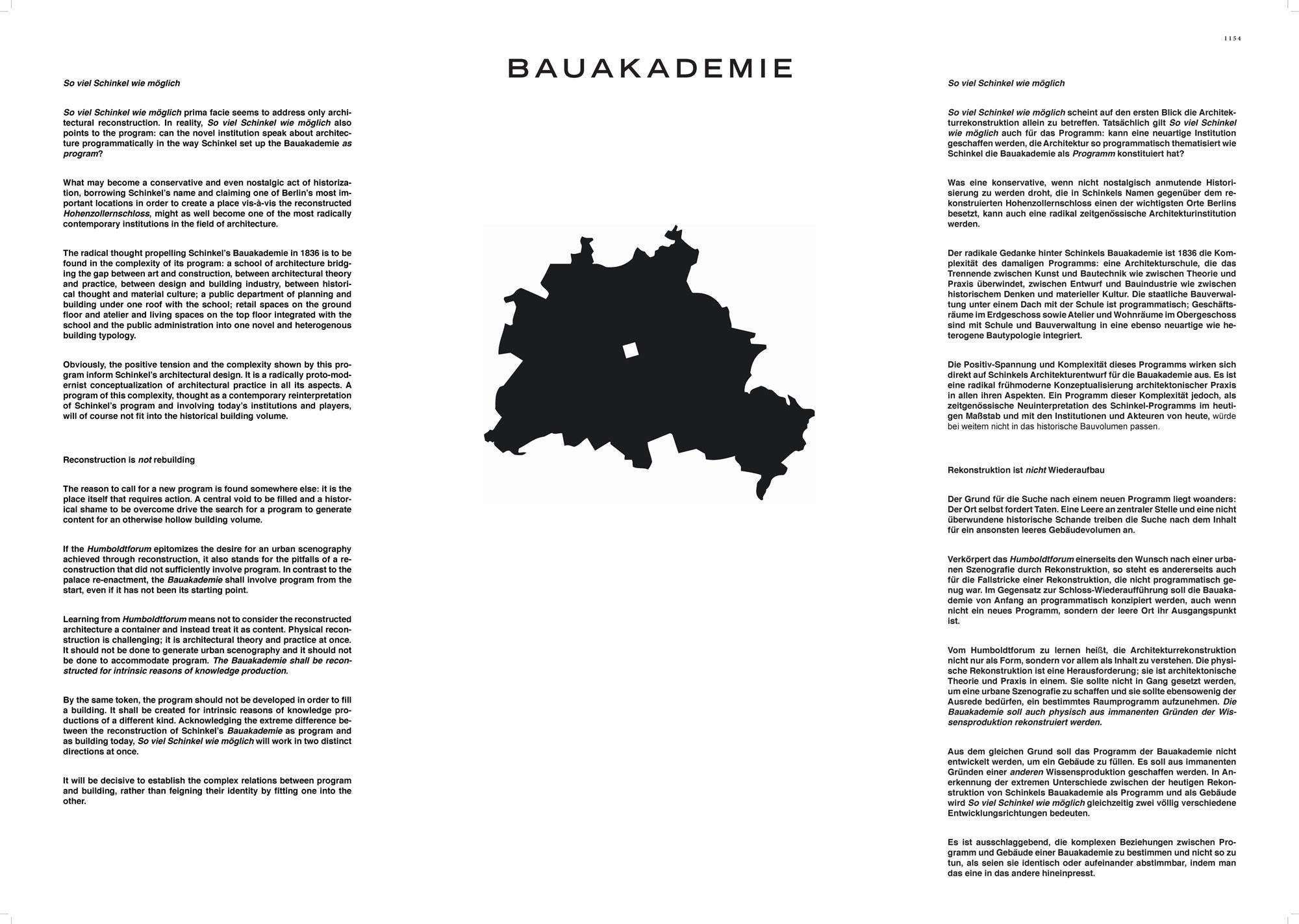 Ergebnis: Wiedererrichtung der Bauakademie Berlin al...competitionline