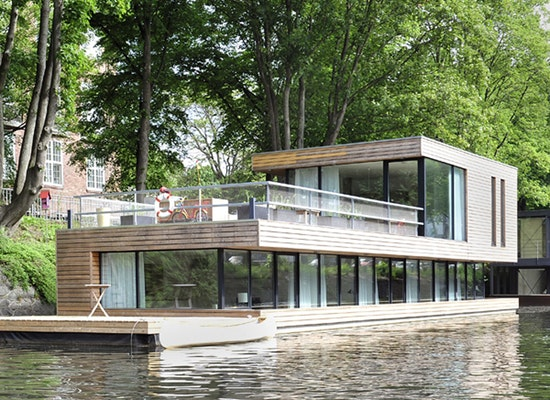 projekt hausboot auf dem eilbekkanal hamburg competitionline. Black Bedroom Furniture Sets. Home Design Ideas