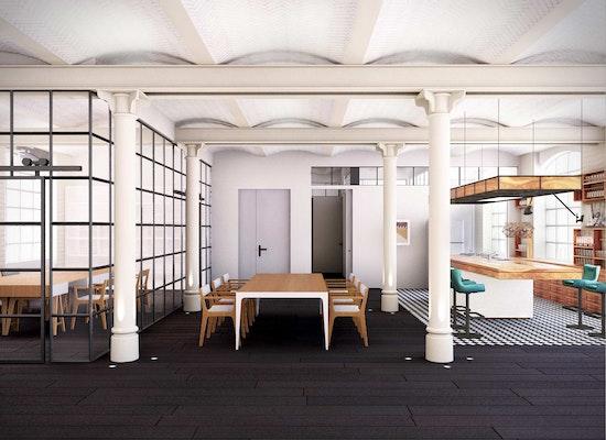 Innenarchitektur Kammer projekt innenarchitektur loft schokoladenfabrik b competitionline