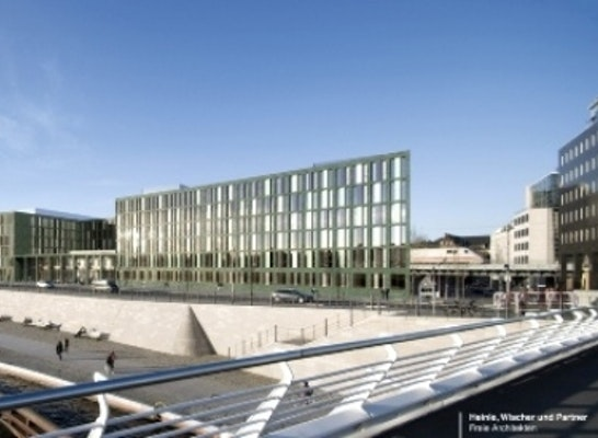 Zuschlag: Zuschlag: Heinle, Wischer und Partner Freie Architekten; TGA-Fachplaner: Scholze Ingenieurgesellschaft