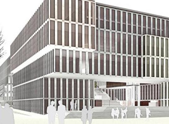Ergebnis Neubau Justizzentrum Bochum Competitionline