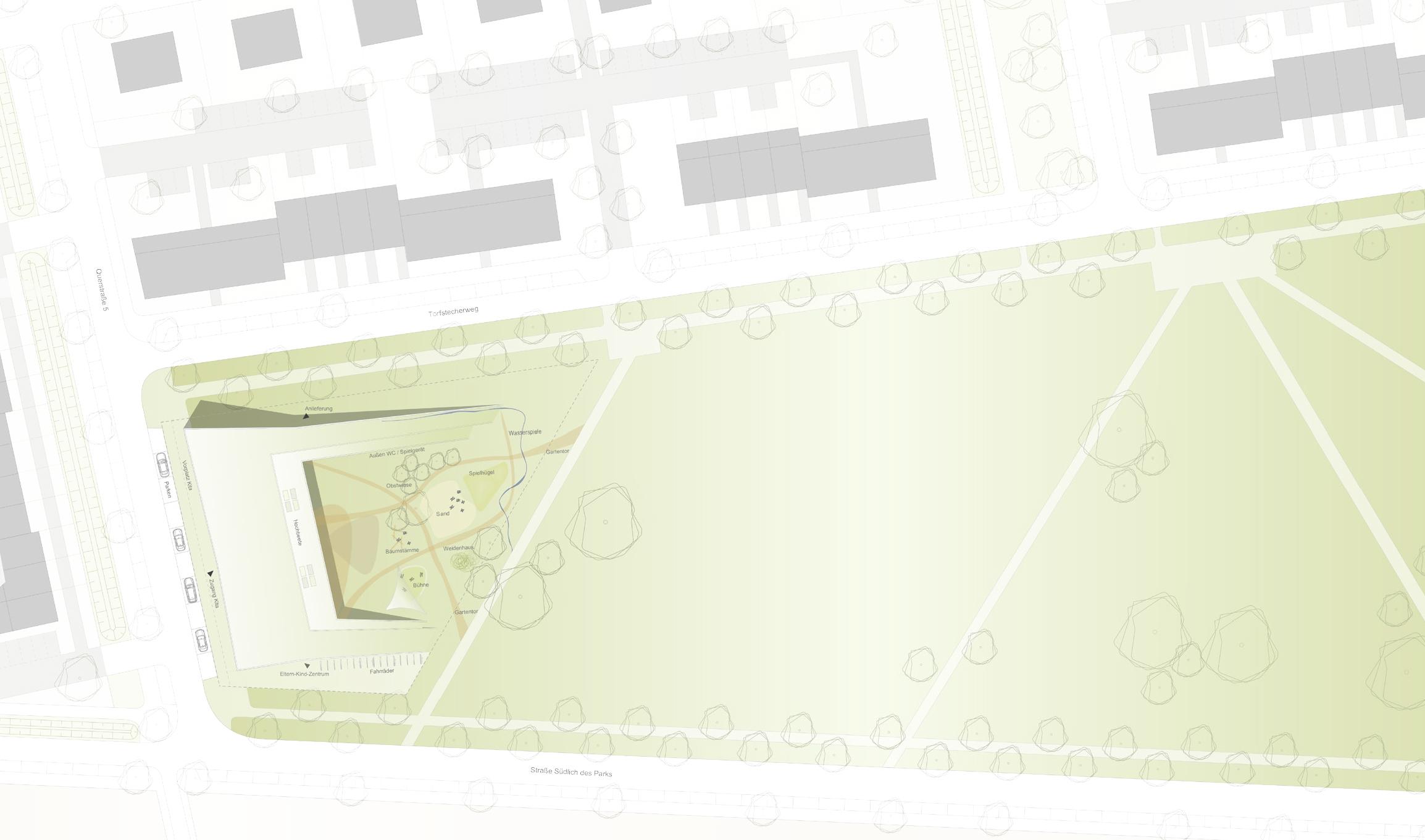 Querkopf Architekten 3 preis neubau der kita vogelk competitionline